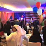 US election results reception