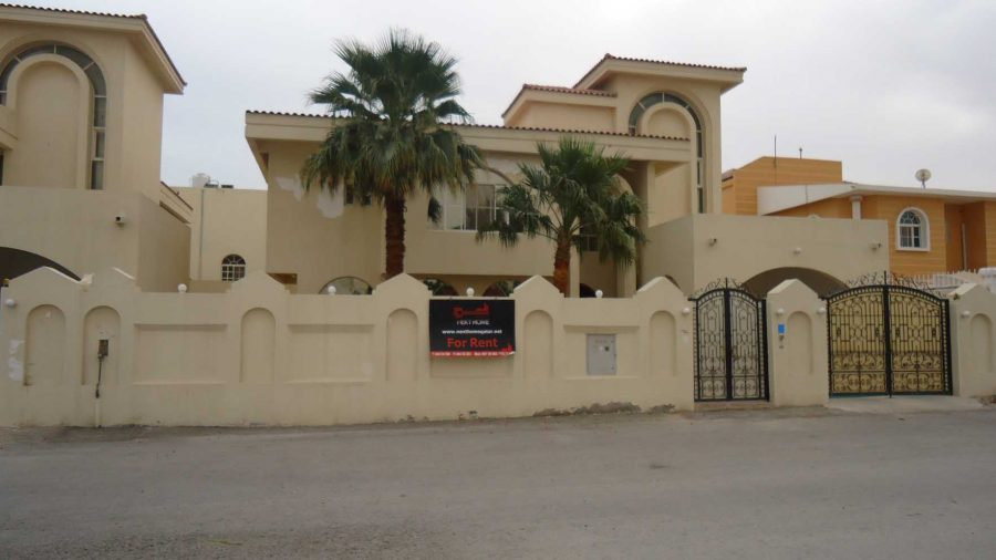 demand for qatar's residential building and villas see a dip