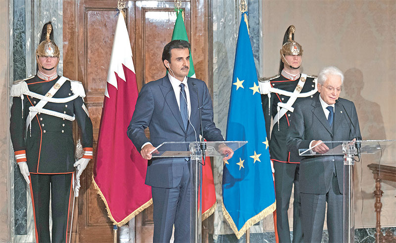 Qatar-Italy relationship made great strides in recent ...