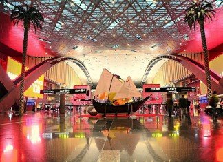 Hamad International 'world's coolest airport,'
