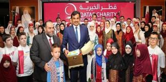 Emir Attends Open Day of Bosnian Orphans