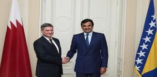 Emir, Bosnian President Hold Official Talks