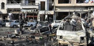 Suicide bombings kill 22 in Syria