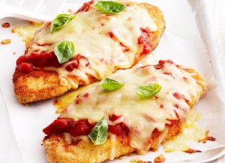 Easy chicken parmigiana