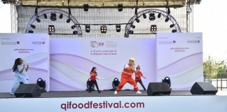 KidzMondo's characters enchant QIFF's young visitors