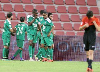 Al Ahli defeated Al Rayyan 3-2 for their fifth