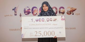Barwa Bank announces the seventh draw winners Of its Thara'a savings account prize
