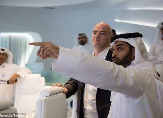 Gianni Infantino visits 2022 World Cup host Qatar