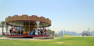 Carousel Designed by Iraqi Artist Dia Azzawi