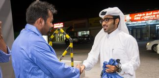 "WOQOD RAMADAN CSR Project ""Gratitude for Gas Station Attendants """