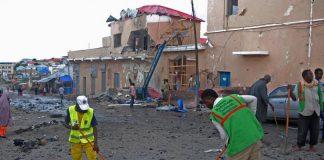 Somalia car bombing: Al-Shabaab claims responsibility as 10 dead