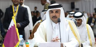 Emir Takes Part in Opening Session of Arab Summit