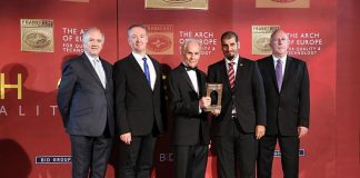 QFBA Wins 'Coveted International Arch of Europe'