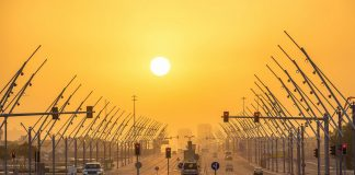 Relief from Qatar humidity is coming
